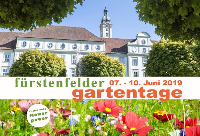 Der SolarZaun auf Messen und Events, Fürstenfelder Gartentage 07.06.-10.06.2019