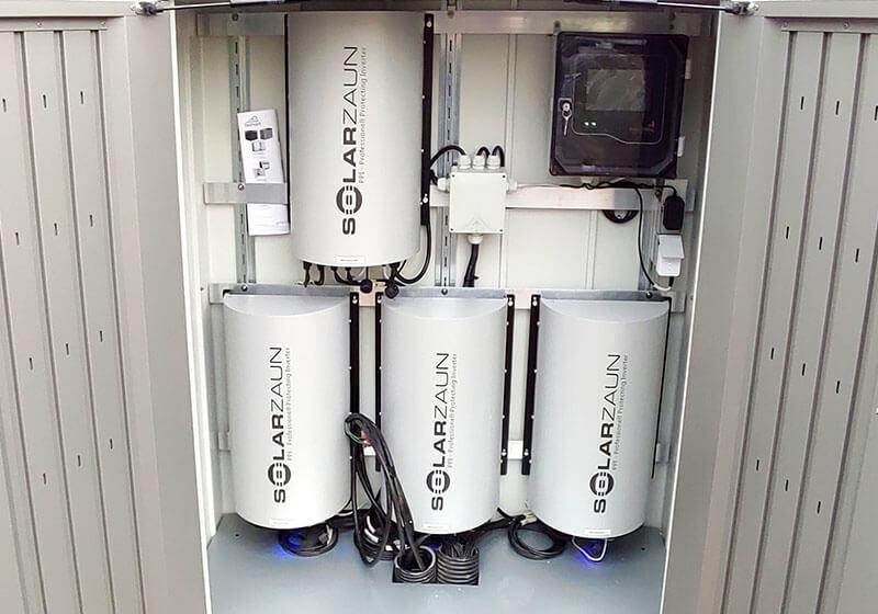 SolarZaun Wechselrichter in Taucha bei Leipzig